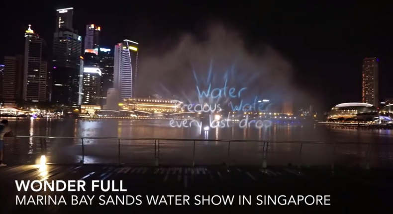 Light And Water Show Singapore