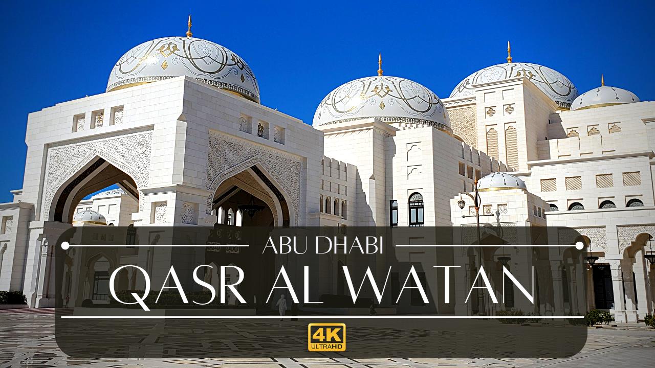 Qasr Al Watan Abu Dhabi Presidential Palace United Arab Emirates Wonderliv